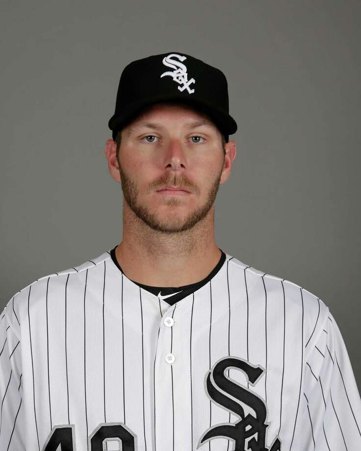 This is a 2016 photo of Chris Sale of the Chicago White Sox baseball team. This image reflects the White Sox active roster as of Saturday, Feb. 27, 2016, when this image was taken. (AP Photo/Matt York) Photo: Matt York, STF / MLBPV AP
