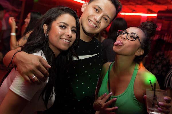 Los Angeles spin diva DJ Von Kiss was at San Antonio's Phantom Room Saturday, July 23, 2016.