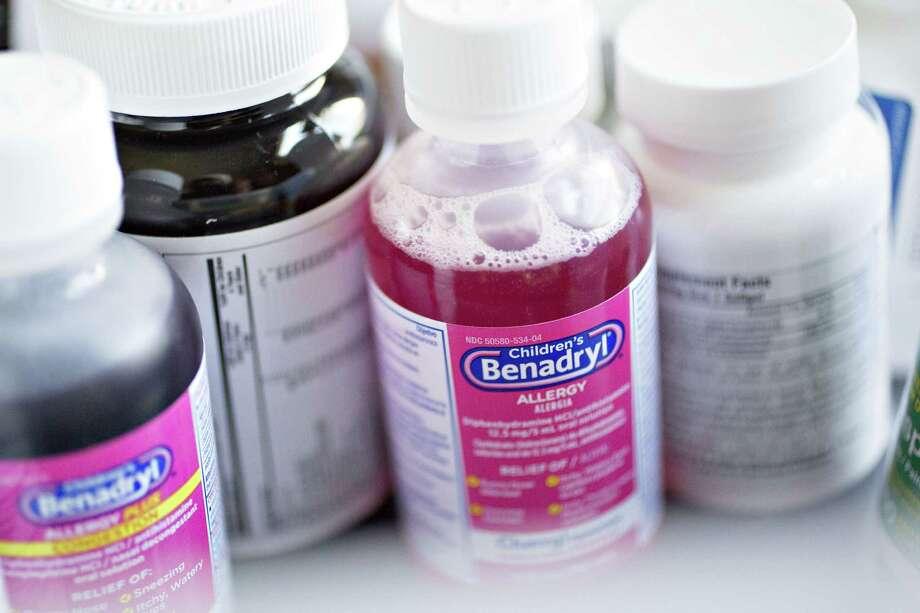 Johnson & Johnson Benadryl brand allergy medication Photo: Daniel Acker / Bloomberg / © 2016 Bloomberg Finance LP