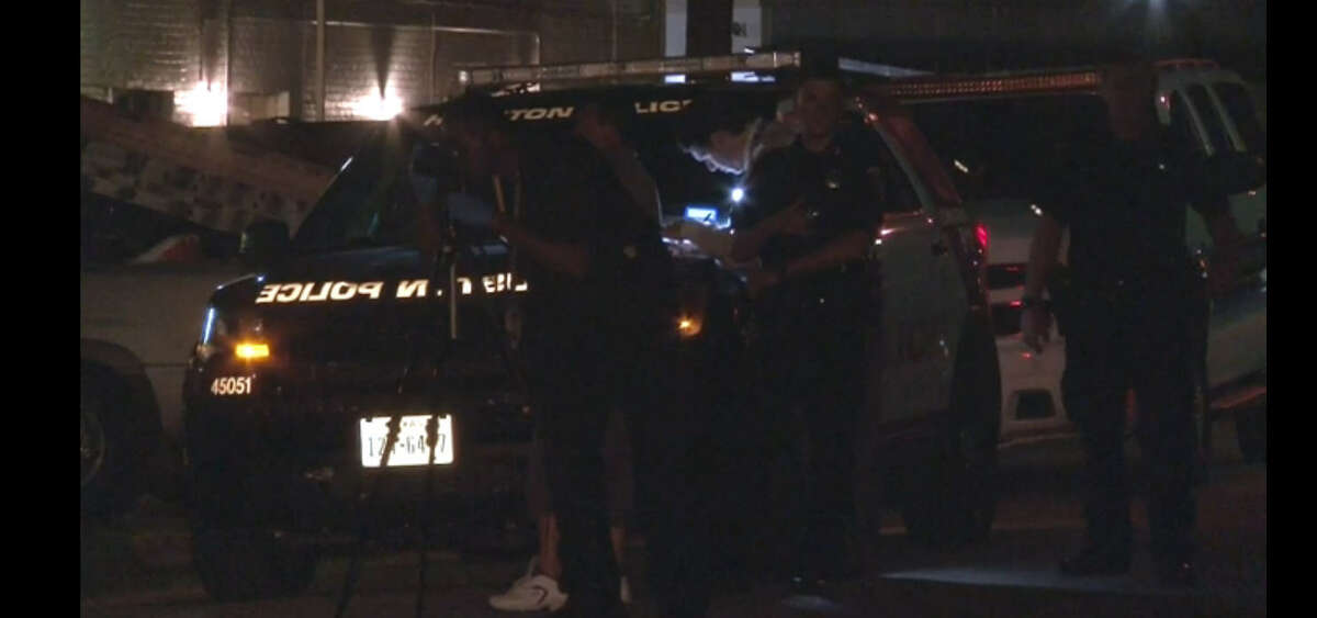 A man died about 12:30 a.m. Monday, July 25, 2016, after he was shot in 7200 block of Atwell near Jessamine in southwest Houston. (Metro Video)
