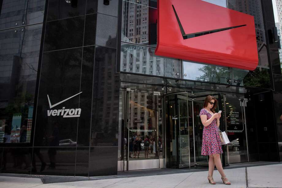 Verizon, in a $4.83 billion cash deal, is adding Yahoo's consumer services — search, news, finance, sports, video, email and the Tumblr social network — to a portfolio that includes AOL. The telecommunications giant hopes the combination will create a stronger No. 3 challenger to Google and Facebook for digital advertising revenue. Photo: Christopher Dilts /Bloomberg News / © 2016 Bloomberg Finance LP
