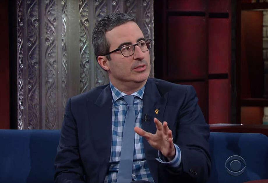 John Oliver To Colbert: Steve Bannon