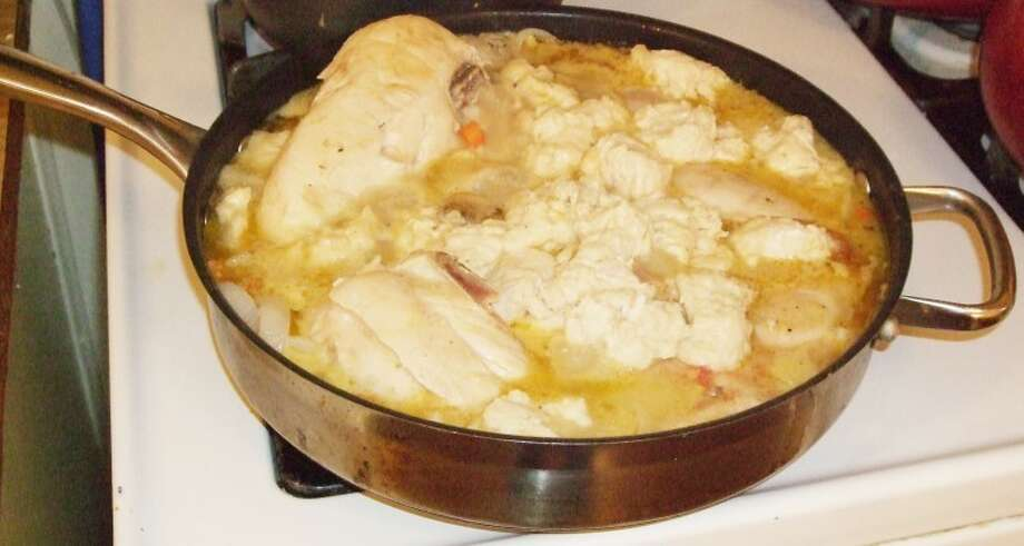Stupendous Chicken Stew & Dumplings has been a Williams family favorite since 1982. Photo: Gail M. Williams | Plainview Herald