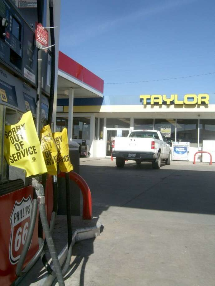 Taylor Food Marts, including five in Plainview, has been without gas the past few weeks as the company looks to sell.