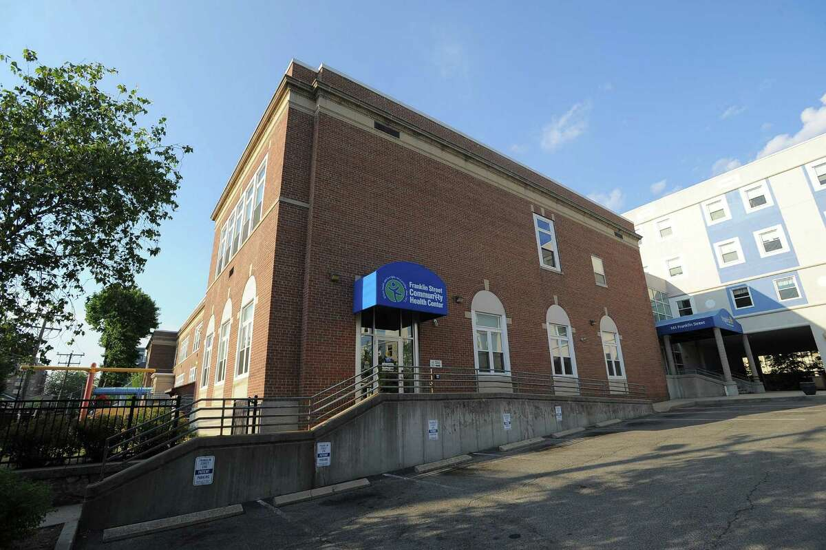 An exterior of the Franklin Street Community Health Center in Stamford, Conn. on July 22, 2016. An organization that runs the health center, along with other health centers in Connecticut, has been chosen to take part in a major federal study.