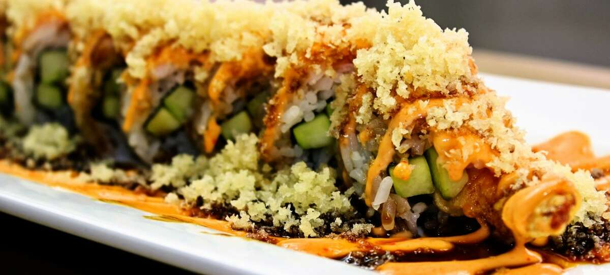 Every 5 to 9 p.m. every Tuesday, Yummi, located at 300 W. Bitters Road, offers an all-you-can-eat sushi menu which includes 12 rolls and four appetizers.