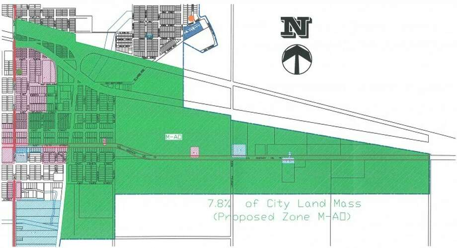 Photo: Map Courtesy Of City Of Plainview