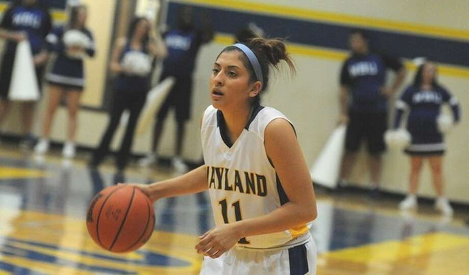 Plainview native Laura Castillo scored nine points, including two 3-pointers, in the Flying Queens' loss to Oklahoma Baptist on Thursday Night. Photo: Wayland Baptist University Photo