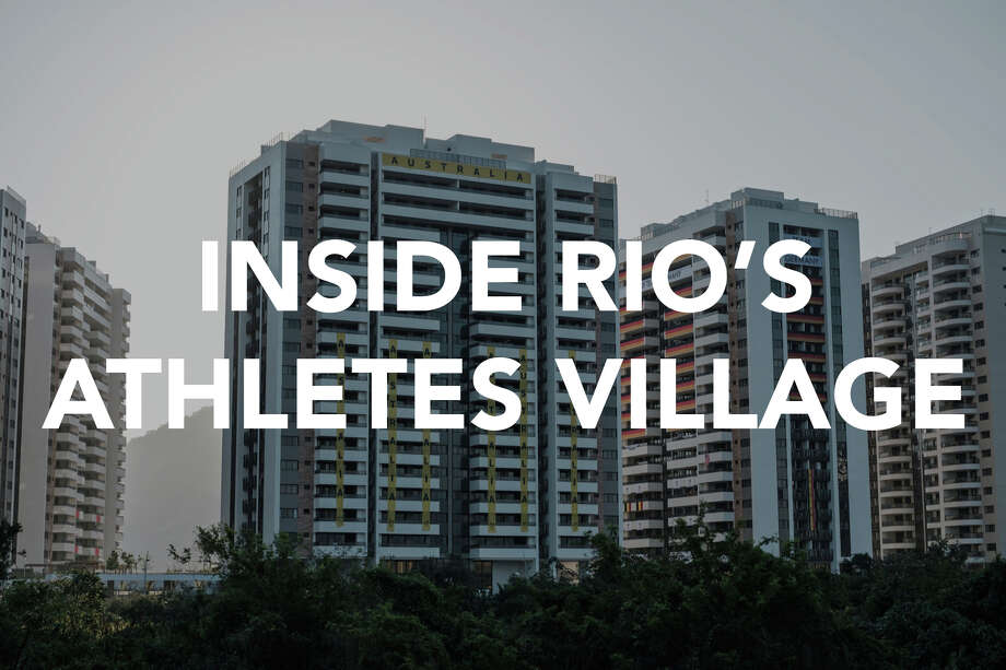 The 31-building compound Athletes Village should pamper the world's best during the Rio Summer Olympic Games. It's set among tennis courts, soccer fields, seven swimming pools — with mountains and the sea as a backdrop — and topped off by a massive dining-kitchen compound that's as large as three football fields. Photo: YASUYOSHI CHIBA/AFP/Getty Images / This content is subject to copyright.