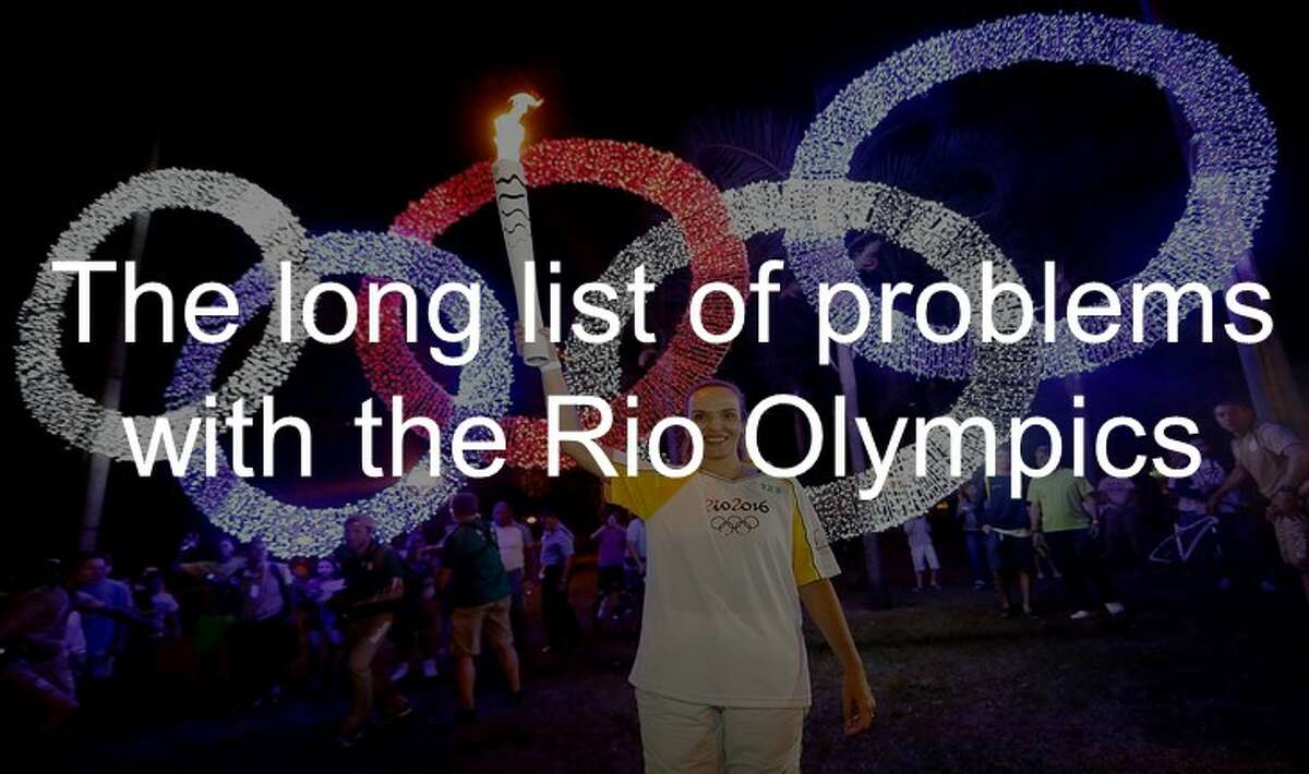 Zika, terrorism and political turmoil are a few of the problems in Rio de Janeiro that is complicating the Summer Olympics. Click through the slideshow to see them all.