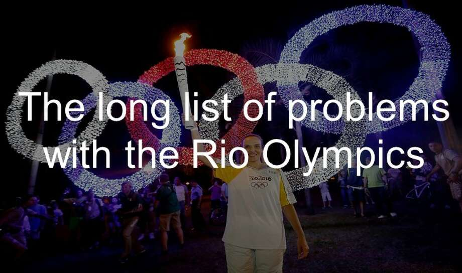 Zika, terrorism and political turmoil are a few of the problems in Rio de Janeiro that is complicating the Summer Olympics. Click through the slideshow to see them all. Photo: AP