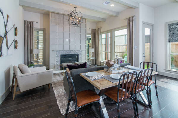 """Houston-based Partners in Building unveils luxury townhomes and single-family """"cottages"""" in the Greater Heights."""