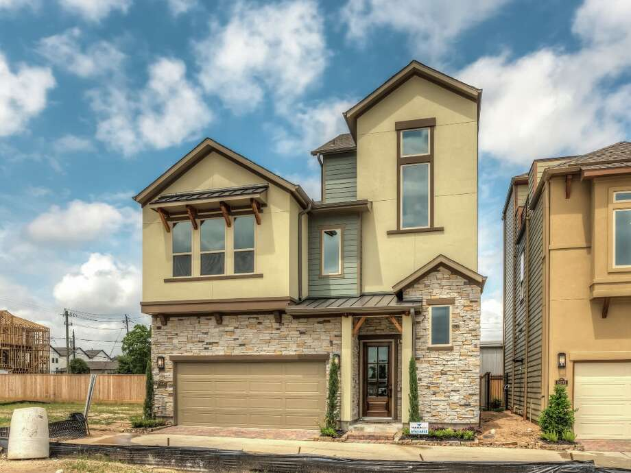 "Houston-based Partners in Building unveils luxury townhomes and single-family ""cottages"" in the Greater Heights.Keep clicking for an inside look at these trendy new homes.  Photo: Partners In Building"