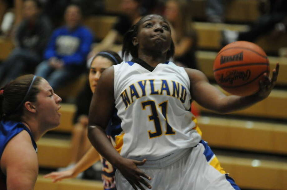 CeCe Williams led the Flying Queens with nine points in Tuesday's loss to Lubbock Christian at Hutcherson Center. Photo: Wayland Baptist University