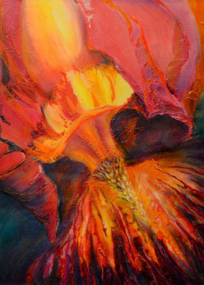"""Bearded Iris"" by Neal Kleman Photo: Courtesy Photo | Wayland Baptist University"