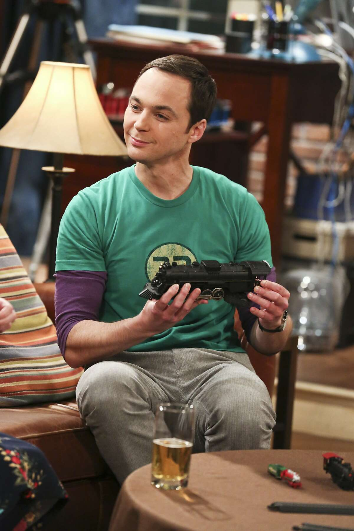 In this image released by CBS, Jim Parsons appears in a scene from