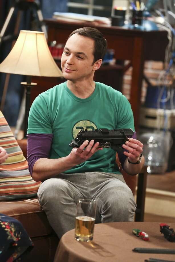 "In this image released by CBS, Jim Parsons appears in a scene from ""The Big Bang Theory."" Television's most-watched network, CBS, was shut out of major awards with the exception of Allison Janney' supporting actress nod for the comedy ""Mom."" Parsons was snubbed as a best actor nominee. (Michael Yarish/CBS via AP) Photo: Michael Yarish, Associated Press"