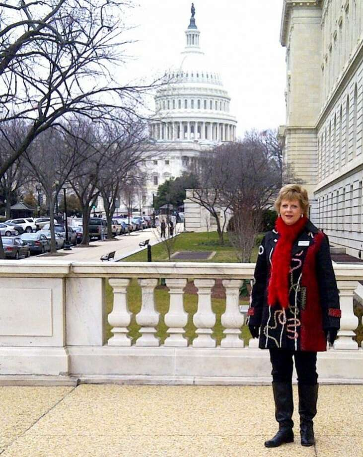 Courtesy PhotoSharon Wright, principal at La Mesa Elementary, traveled to Washington, D.C., to participate in the National Association of Elementary School Principal's Federal Relations Conference.
