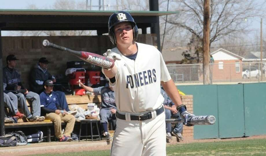 Gregg Veneklasen went 4-6 with three runs and an RBI in the Pioneers' Tuesday doubleheader against MidAmerica Nazarene. Photo: Summer Morgan/Wayland Baptist University