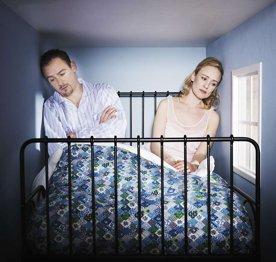 A husband is in an unhappy relationship with his wife who won't touch him. Photo: Henrik Sorensen, Getty Images