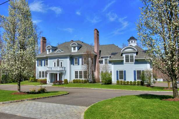 Built by Cunningham & Co. in 2005, this six-bedroom Colonial was the recipient of the 2007 Hobi award for best custom house. It is currently on the market in New Canaan, Conn. at an asking price of $4,645000.