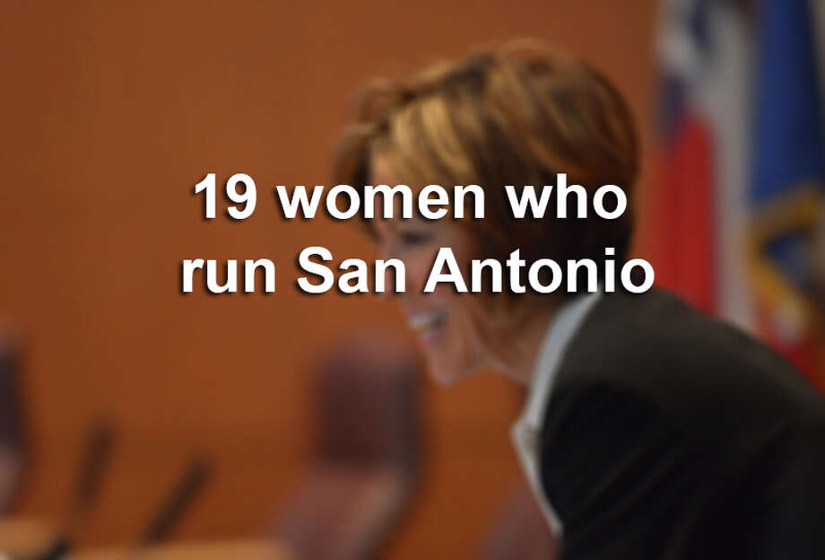 Click through the gallery to view the 19 women who run San Antonio. Photo: Robin Jerstad/For The Express-News