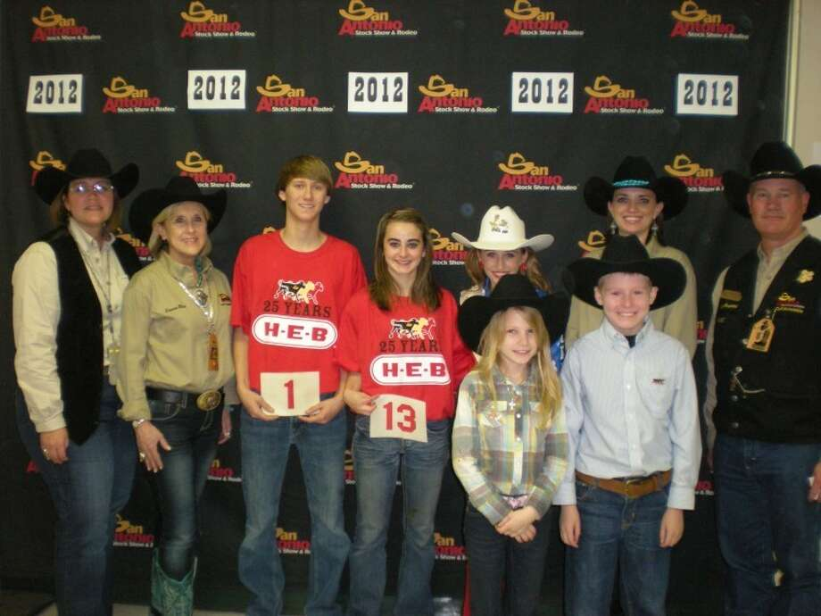 "SAN ANTONIO — The calf scramble was held Feb. 23 at the San Antonio Livestock Show & Rodeo.FFA and 4-H youth competed for $800 certificates to purchase breeding animals to exhibit in the 2013 San Antonio Junior Livestock Show. Twelve certificates were awarded to those who caught a calf.Kayla Stroope, Cotton Center, was a winner in the calf scramble. Stroope, 15, is a sophomore and plans to purchase a swine breeding animal with her certificate.Daniel Templeton, Cotton Center, is another winner of the calf scramble, Templeton 15, also a sophomore, plans to purchase a sheep breeding animal with his certificate.Stroope and Templeton are both members of Cotton Center FFA.In pursuit of its mission ""Helping Youth Today So That Agriculture Can Grow Tomorrow,"" the San Antonio Stock Show & Rodeo has committed more than $79 million to youth education since 1984."
