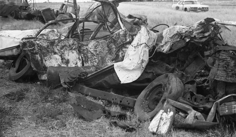 Herald Film PhotosAll eight occupants of this 1968 sedan died in Hale County's deadliest crash, on June 2, 1973.