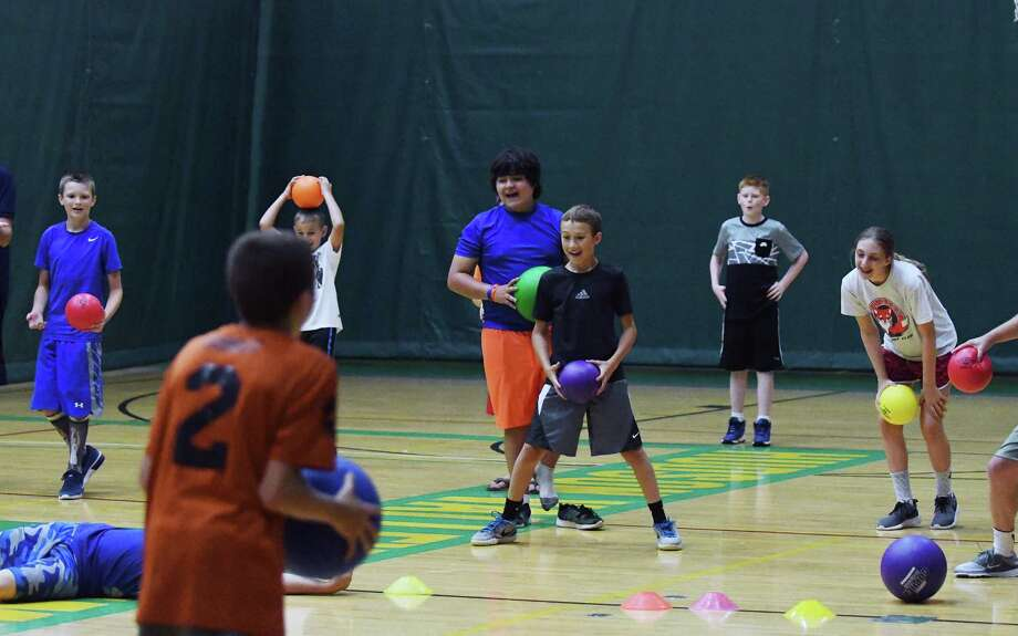 HVCC hosts dodgeball camp for kids - Times Union