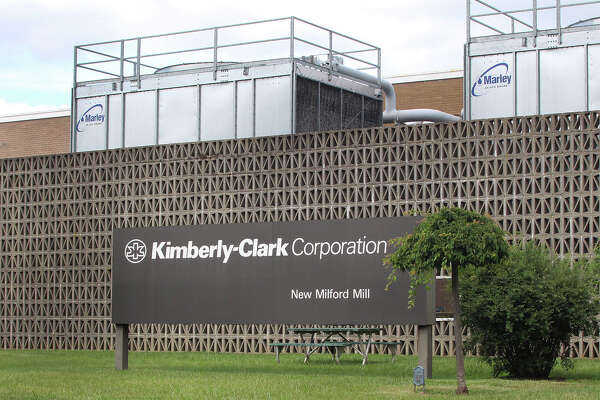 Chris Bosak/Hearst Connecticut Media The Kimberly Clark manufacturing facility in New Milford, Conn., July 11, 2016.