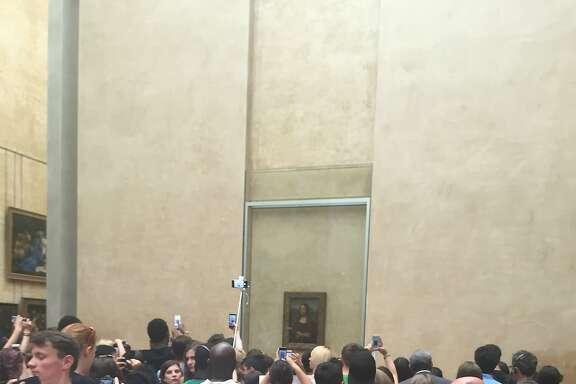 Kevin Fisher-Paulson  stopped by to say hey to the Mona Lisa