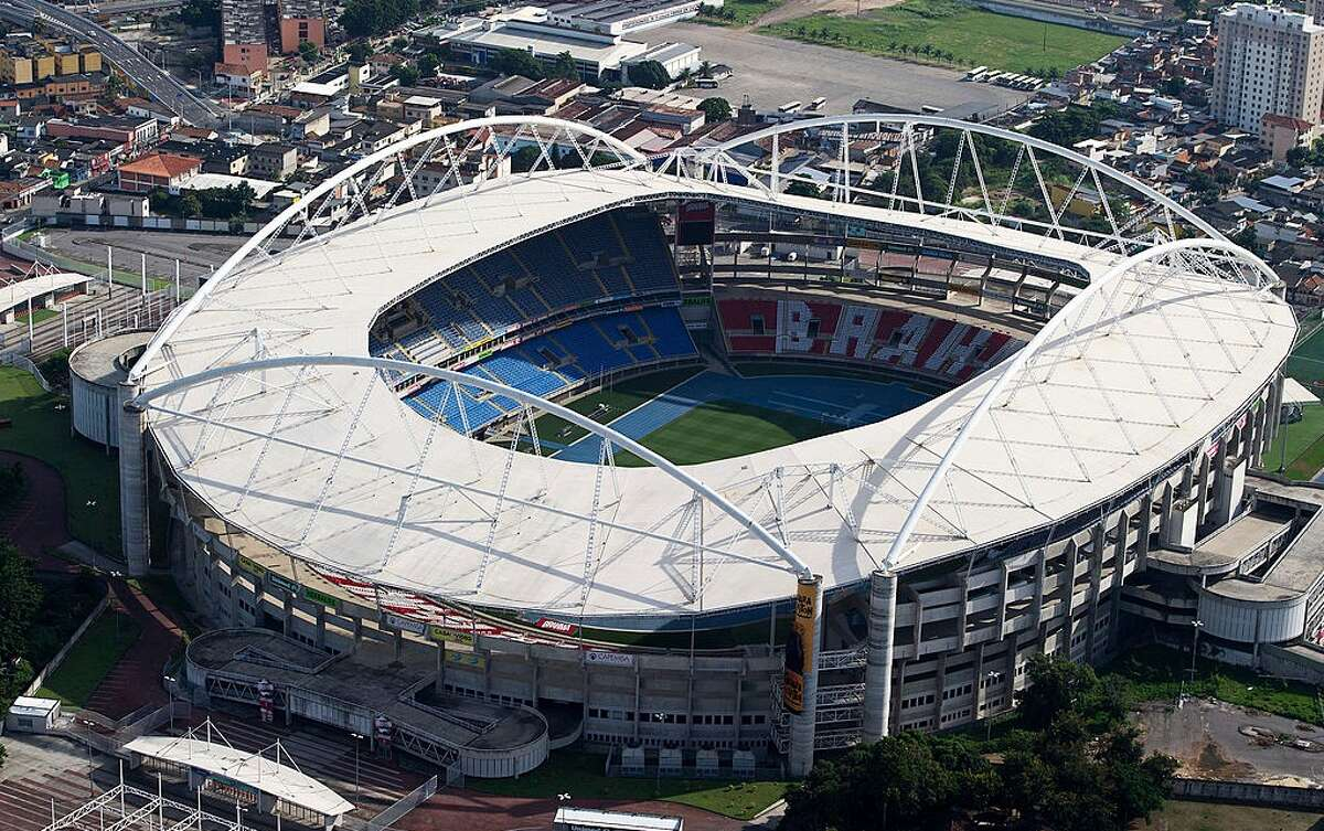 The Joao Havelange Stadium in Rio de Janeiro, Brazil, will host the Track and Field events for the 2016 Summer Olympics. Journalists staying in Rio de Janeiro to cover the Olympics will be staying at apartments reportedly built on the grave site of former slaves.