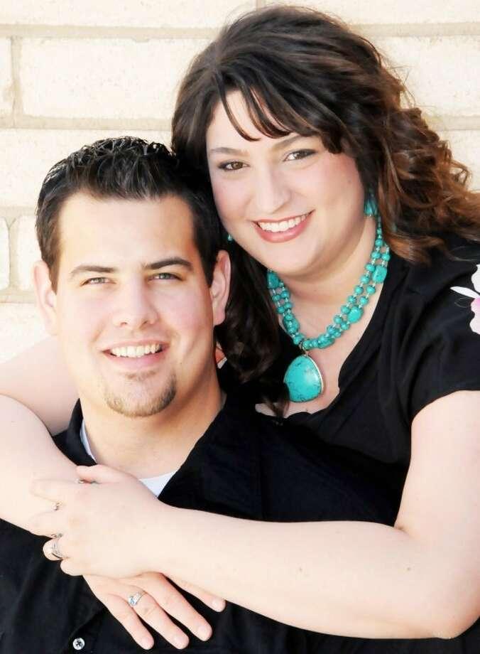 Mark Edlin and Ashley Hardage