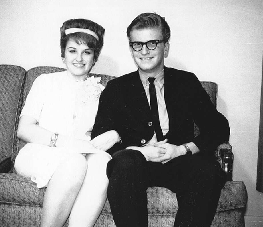 Wayne and Virgie Arnold in 1963