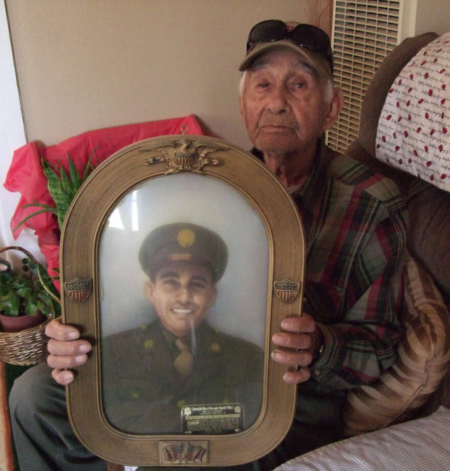 Arturo Garcia, at age 92, is among those remaining who fought and won World War II. Photo: Shanna Sissom/Plainview Herald