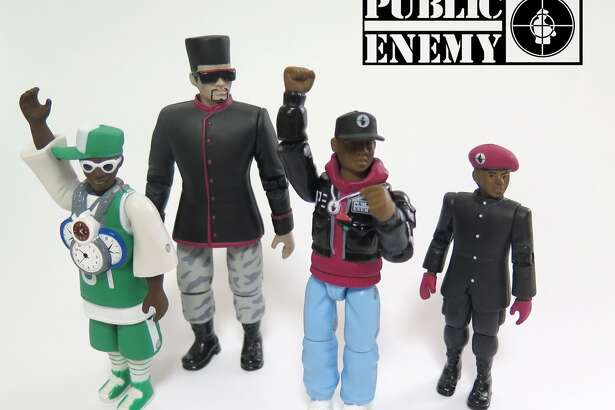 Hip-hop group Public Enemy has been immortalized in a set of action figures.