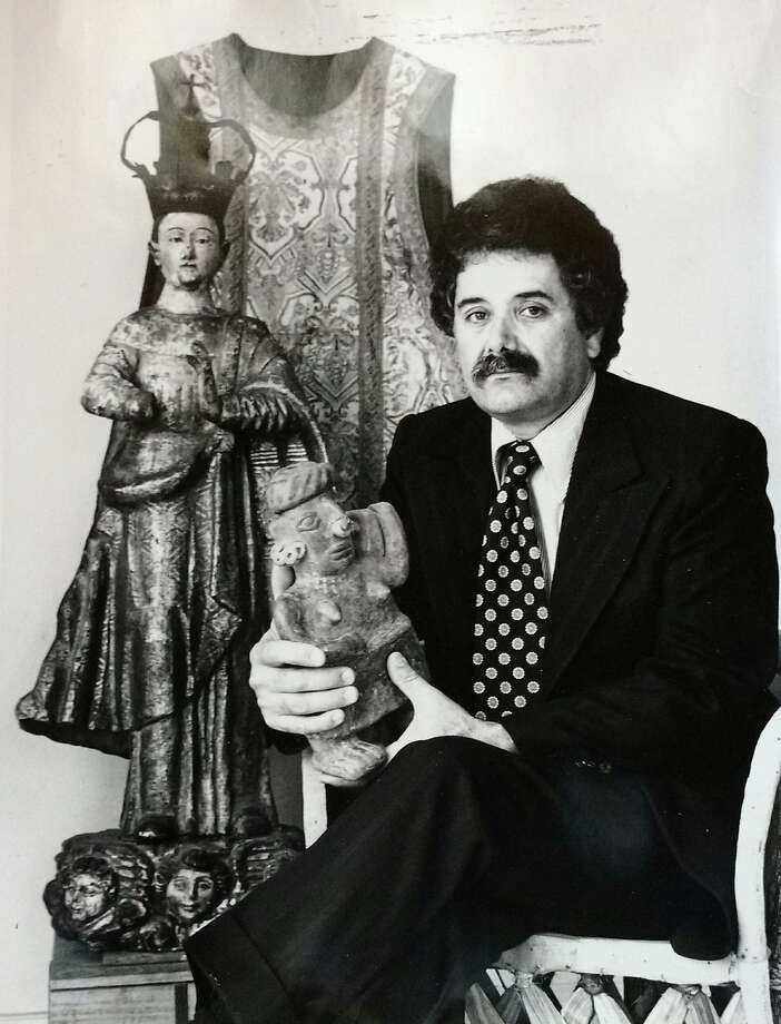 An undated photograph of Mexican Museum founder Peter Rodriguez during the period (1975-85) he served as executive director. Photo: Courtesy�Mexican Museum