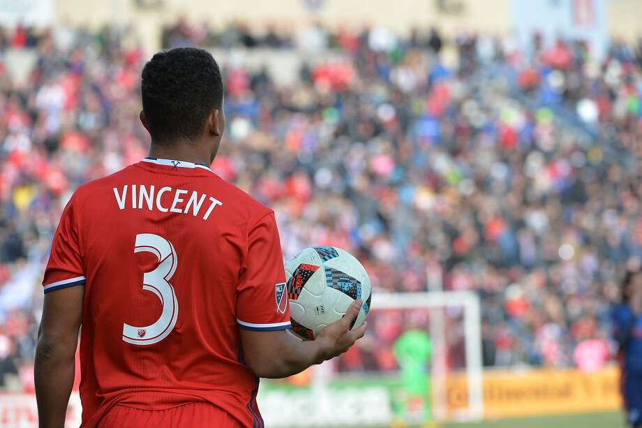 Former Stanford men's soccer team captain Brandon Vincent now plays professionally for Major League Soccer's Chicago Fire in after graduating in December. Photo: Abel Arciniega, Courtesy Of Chicago Fire Soccer Club
