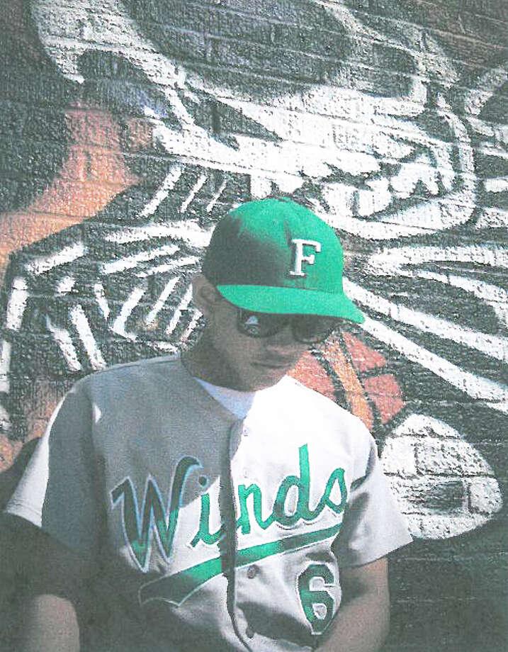 Floydada baseball player Danny Martinez