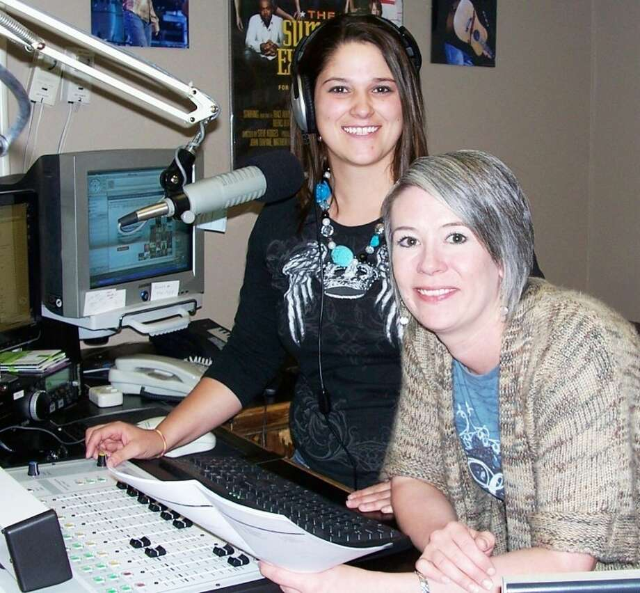Shane Harrell/City of PlainviewKKYN radio host Bridgette Wall (left) and station manager Desi Pharis take a moment to review the lineup for the Texaco Country Showdown set for Friday at the Fair Theatre. A variety show will be used as a backdrop with the talent show playing out between acts. Local winners have a chance ultimately to advance to the national competition in Nashville next January. There is no charge to attend. Photo: Picasa