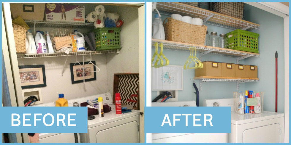 20 Home Organizing Before And Afters That Will Practically