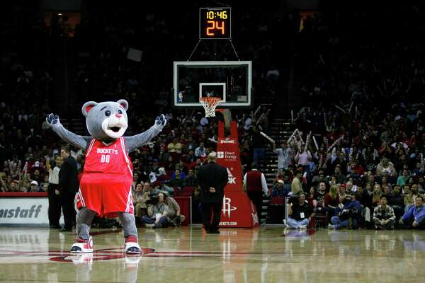 "Clutch the Bear, aka Robert Boudwin, was named the NBA's first ""Mascot of the Year"" in 2005."