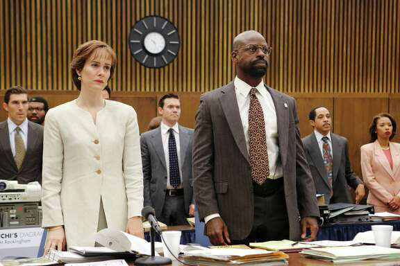 "Criminal lawyer Marcia Clark says she was surprised that ""The People v. O.J. Simson,"" starring Sarah Paulson (as Clark) and Sterling K. Brown, pictured, portrayed her as a likable person."