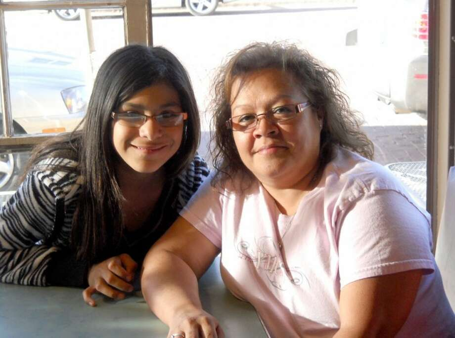 Courtesy PhotoBig Sister of the Year Isabel Alvarez is pictured with her Little Sister, 11-year-old Layla.