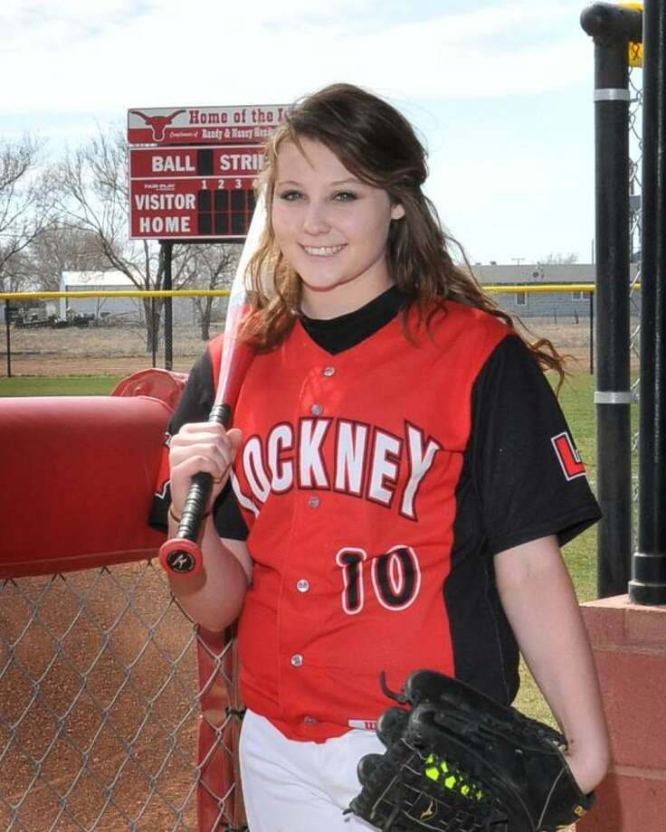 Lockney junior Katie Jackson was voted the All-District 5-1A first team pitcher. Photo: Photo Courtesy Of Randy Jackson