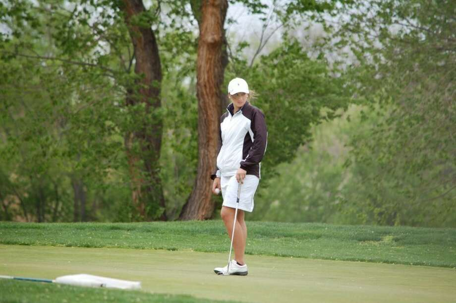 PHS junior Haley Raymond finished 17th at the Region I-4A Tournament in Abilene. Photo: Summer Morgan/Plainview Herald