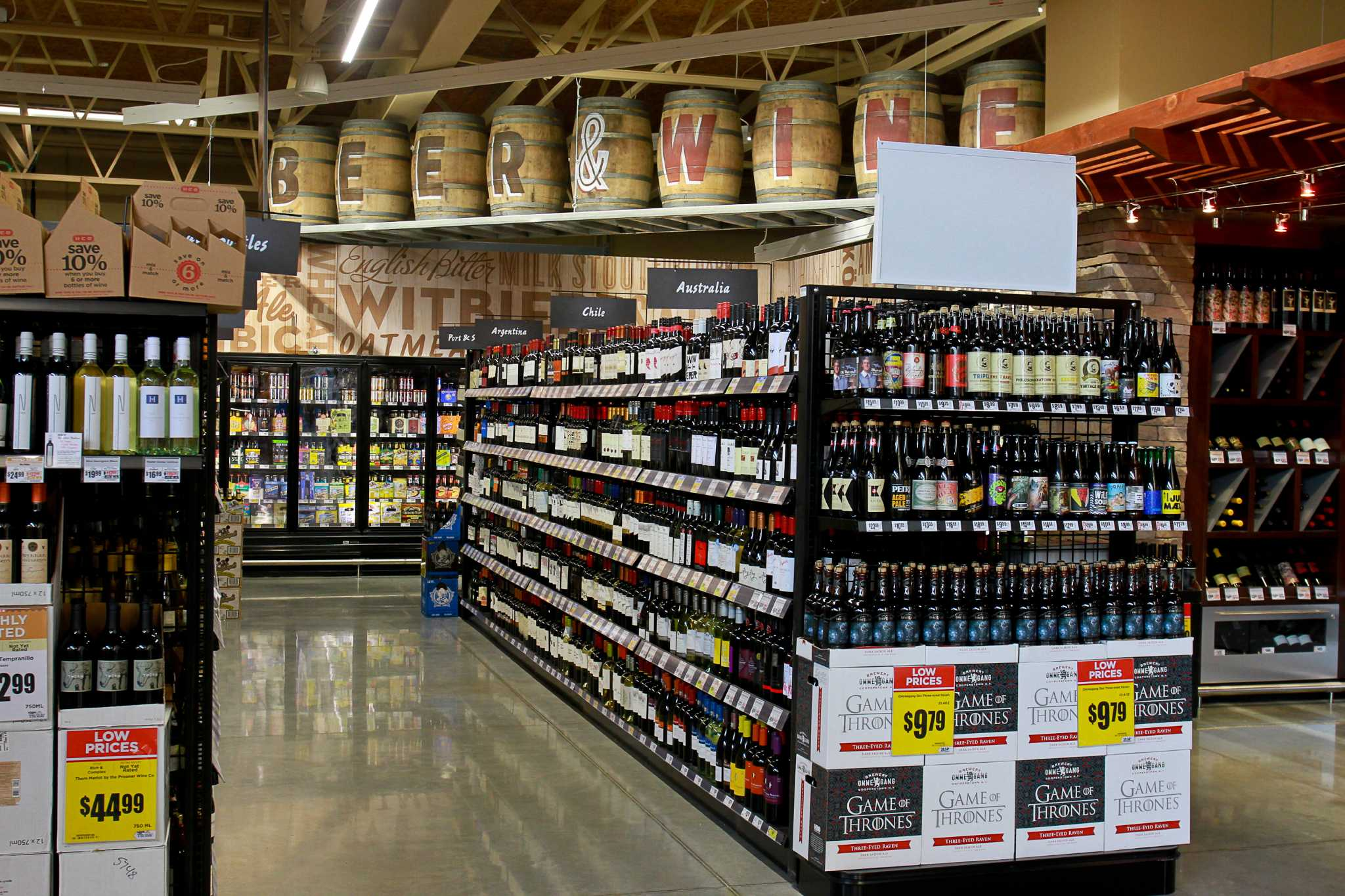 H E B Backs Campaign For Heights Beer And Wine Sales