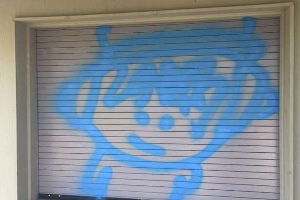 Boerne Police took to social media in the hopes of finding the person or people responsible for graffiti painted around town.