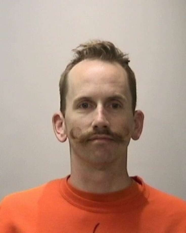 Ian Hespelt, 39, was arrested on suspicion of four felony charges, including assault with a deadly weapon, stemming from an Aug. 28 attack during a Critical Mass bike ride. Photo: SFPD