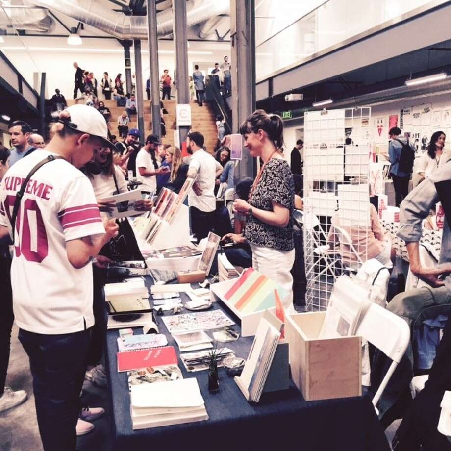 The 2016 Art Book Fair at Minnesota Street Project.